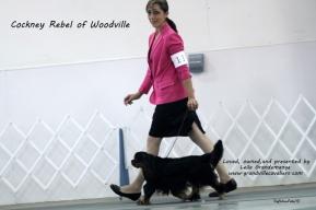 Leila presenting Sacha