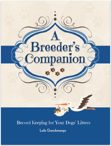 Record keeping book for your litters