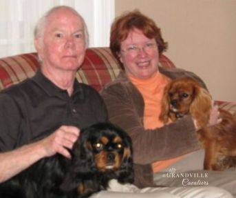 Barbara and Allen with Lord Barnaby and Princess Leia
